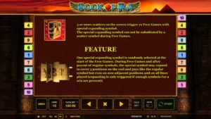 Book of Ra deluxe Vorschau Feature
