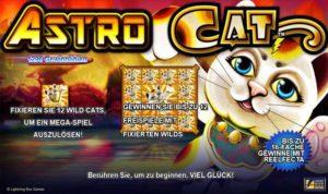 Astro Cat Vorschau Features