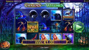 Charms and Witches Vorschau Gewinn