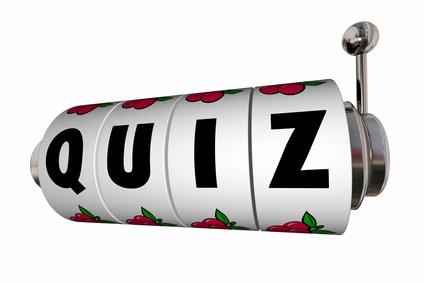 Slot mit Quiz